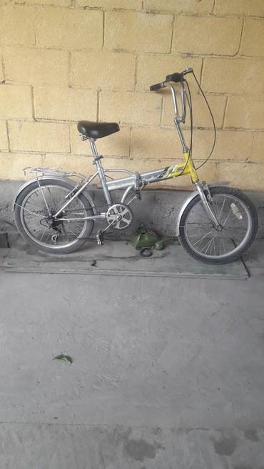 Велосипед велик Российский STELS складной. садись и едь. 4 скорости от