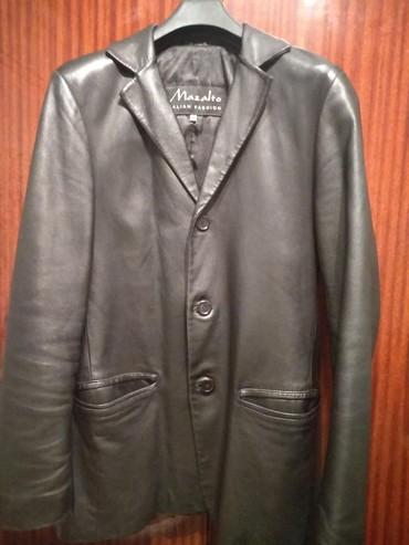 Продаю кожанную куртку в нормальном состоянии 44-46 размер