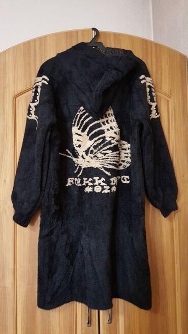 зимние пальто бишкек в Кыргызстан: Кардиган пальто с капюшоном Новое качество Турция размер стандарт