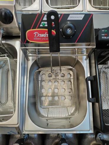 kartof - Azərbaycan: Kartof fri aparatiDamla Turk istehsali5 litr tutumlu termostatli