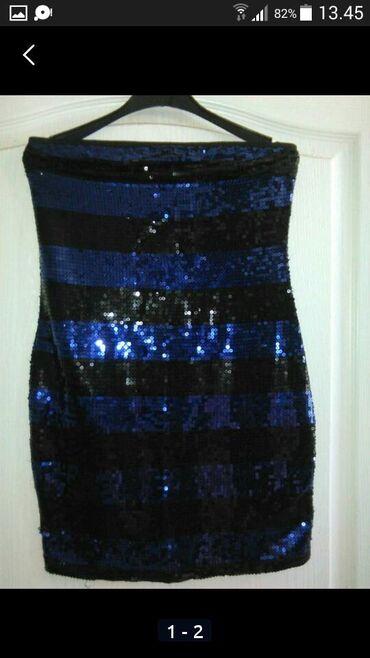Haljine   Bogatic: Prelepa kao nova jednom obucena l haljina top