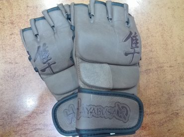 Кожаные перчатки HAYABUSA ,для смешанных в Бишкек
