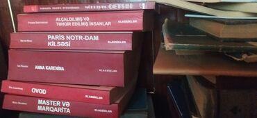 301 elan   İDMAN VƏ HOBBI: 200+ ikinci əl bədii kitablar satılır. Azərbaycanca (latın, kiril)