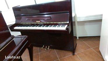 Bakı şəhərində Weinbach markalı 3 pedallı  piano - Çexiya istehsalı, yüksek