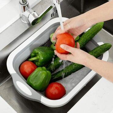 Aksesoari | Srbija: Daska za secenje, posuda za pranje i serviranje, 3 u 1Vrlo prakticna