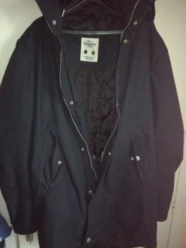 Muška odeća | Kragujevac: Muška jakna,sa kapuljačom,nova,nije nošena,l veličina