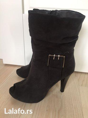 Ženska obuća | Novi Banovci: Polu cizmice,dobro ocuvane br 39