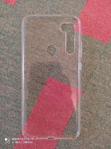 Чехлы в Забрат: Xiaomi Redmi Note 8 telefonu üçün şəffaf arxalıq (kabro)