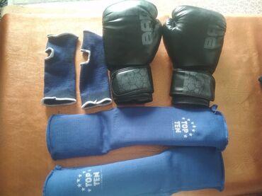 Спорт и хобби - Орто-Сай: Продам набор для тренировок по тайскому боксу или кик-боксуВсе вещи в