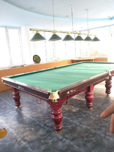 Бильярдные столы в Кыргызстан: Продаю Бильярдный стол  Бильярдный стол Тянь-Шань (TianShan JingYing)