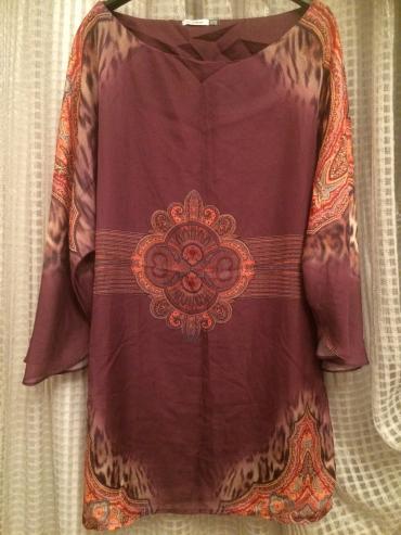Bakı şəhərində Турецкая платье с подкладкой раз 42/XL один раз одели как новый