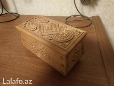 деревянная мозаика в Азербайджан: Шкатулка деревянная