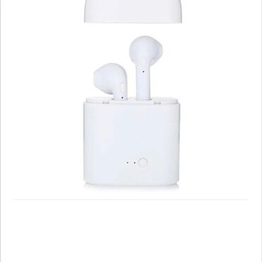 Elektronika - Pirot: Bežične Bluetooth slušalice sa kutijom za punjač i12 TVS, u uhu