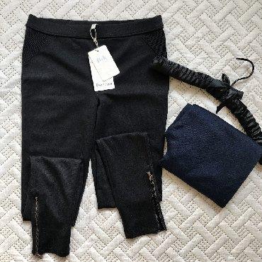 женские-брюки-черные в Кыргызстан: В наличии Новые лосины Bershka по 1500сом. Размеры М, L