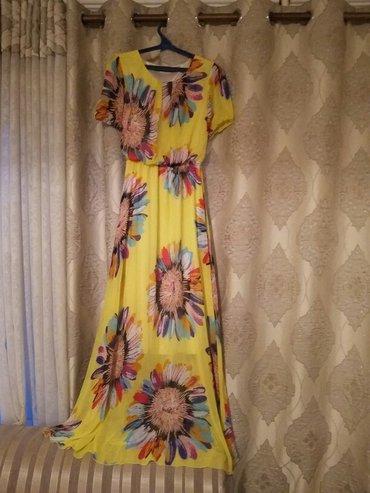 Продаю новое женское платье из шифона. в Бишкек