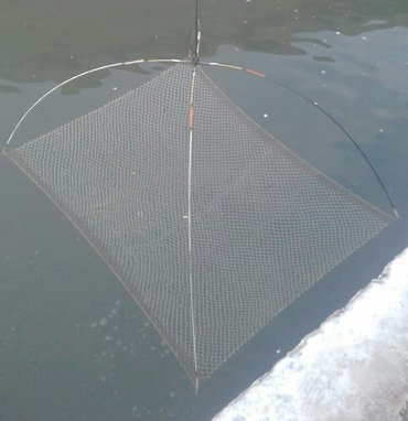 рыбаловная снасть паук размер 150×180 Либо меняю на ледобур. в Бишкек