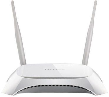wi-fi-4g-wingle в Кыргызстан: Роутер 3G/4G TP-LINK TL-MR3420 Wi-Fi 300 Мб,1xWAN 100 Мб, 4xLAN 100 Мб