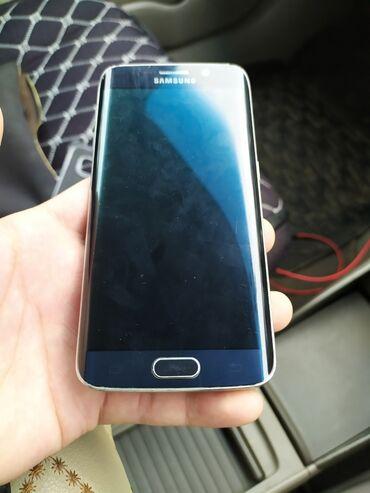 samsung s6 32gb в Кыргызстан: Б/у Samsung Galaxy S6 Edge 32 ГБ Синий