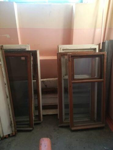 Продаю б/у деревянные окна