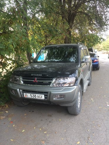 Мицубиси паджеро 3. Или обмен на седан лев руль в Бишкек