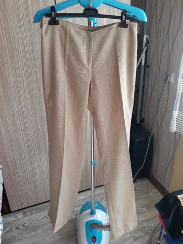 Lanene pantalone - Srbija: Lanene pantalone,poluobim struka 39,duz.105cm. POGLEDAJTE I OSTALE