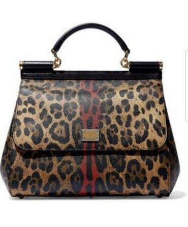Личные вещи - Пригородное: #Женская сумка#тигровая#долчегаббана#новая#красивая#удобная#подешевле#