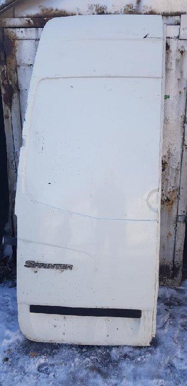 Дверь задняя, Спринтер Рекс 2010г.Sprinter. Без замков, высокая будка