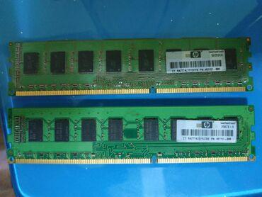 Ram HP DDR3 2gb (2 ədəd qalıb)