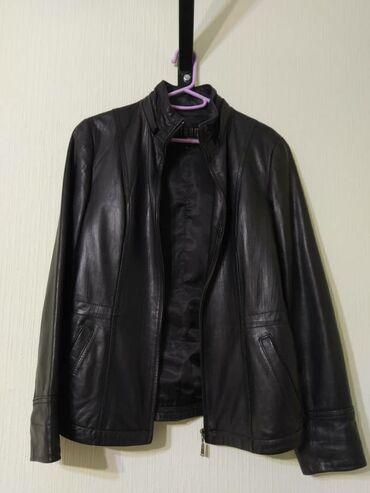 куртка в Кыргызстан: Продаю кожаную куртку, итальянская кожа,мягкая высокого