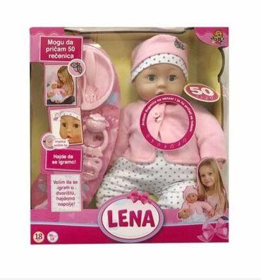 """Barbie set - Crvenka: """"Zdravo mama!"""", - """"Zdravo tata!"""", - """"Volim te!"""" - interaktivna lutka"""