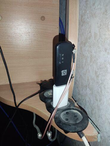 Электроника - Нижний Норус: Модем вместе с антенной 3000с. Идеально все работает