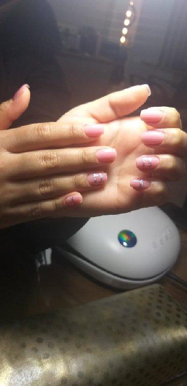 шеллак маникюр наращивание ногтей в Кыргызстан: Наращивание ногтей, маникюр, педикюр, шеллак!!