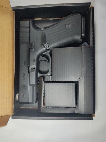 Пластиковый шифер - Кыргызстан: Страйкбольный пистолет от E&C Glock-19 gen-5,стрелятет уляжеленным