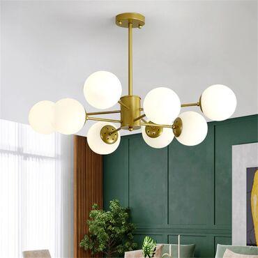 Люстра 8 ламп