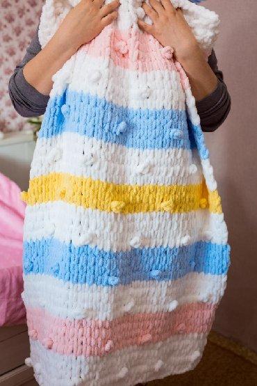 Рукоделие - Кыргызстан: Свяжу на заказ зефирные пледики для Ваших малышей! Из гипоаллергенной