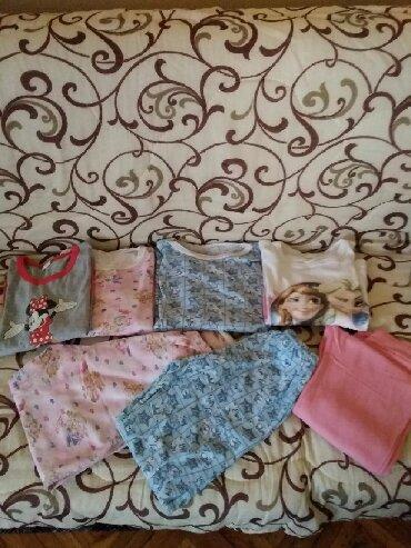 Ostala dečija odeća | Kovin: Pidzame Mini Maus vel 8,Frouzen vel 10,Roza i plava vel 12.Sve zajedno