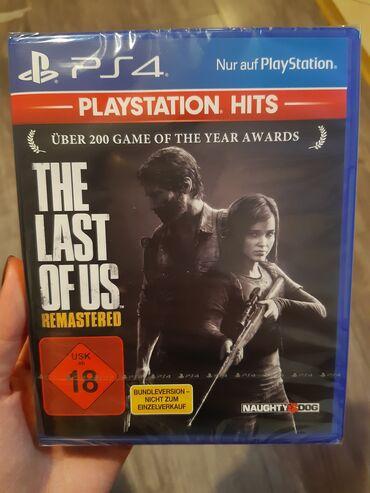 51 oglasa   PS4 (SONY PLAYSTATION 4): THE LAST OF US REMASTERED Igrica za PS4 nova neotpakovana u celofanu
