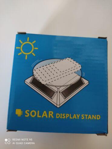 телефоны и аксессуары в Кыргызстан: Вращающаяся платформа на солнечных элементах работает и от искусстве