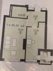 диски на 13 купить в Кыргызстан: Продается квартира: 1 комната, 46 кв. м