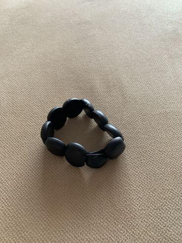 Черный нефритовый браслет,носили меньше года