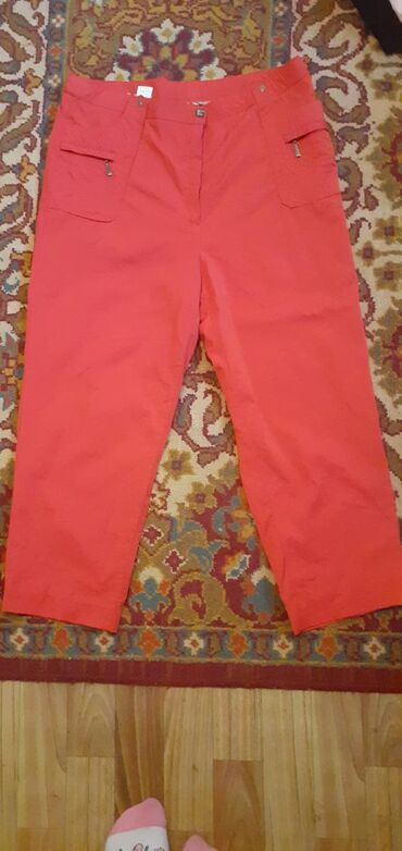 Личные вещи - Чон-Таш: Почти новые брюки( укороченный) Размер 52-54-56. Обмен интересует