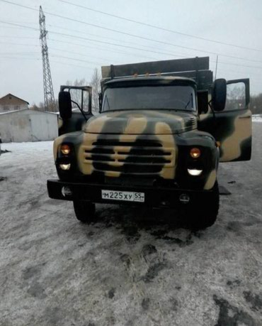 Доставка ЗИЛ песок щебень отсев гравий глина и другое в Бишкек