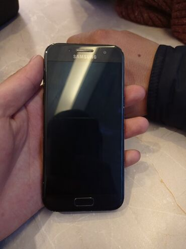 сенсорная плита бош в Кыргызстан: Б/у Samsung Galaxy A3 2017 16 ГБ Черный