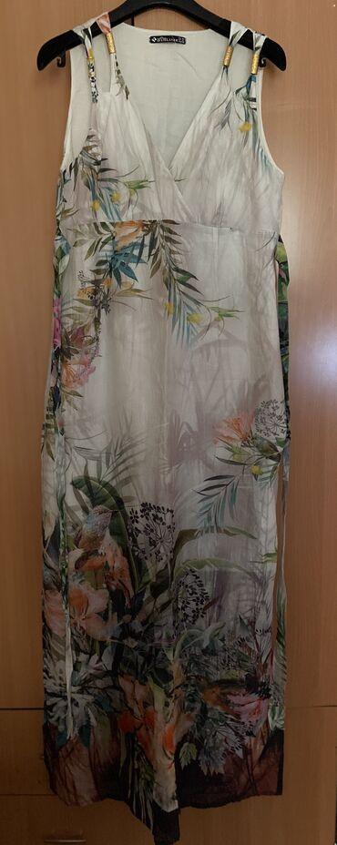 dresses в Кыргызстан: Продаю сарафан 48 размера. Производство Турция. Надевали всего раз