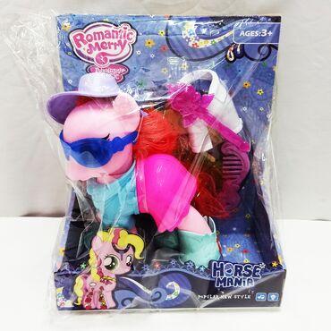 Литтл Пони (Little Pony) с различными аксессуарами для послушных