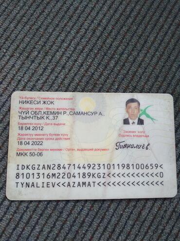 Находки, отдам даром - Селекционное: Паспорт и права таап алгандар болсо берип койгулачы суйунчусу бар