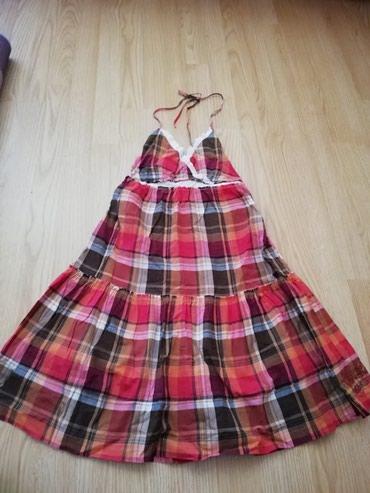 Pamucna, letnja, leprsava haljinica Kao nova - Lajkovac