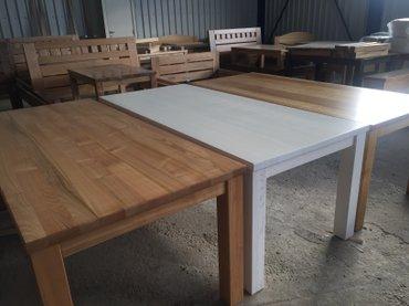 Trpezarijski stolovi iz naše ponude rađeni su od punog drveta, pa ih - Beograd