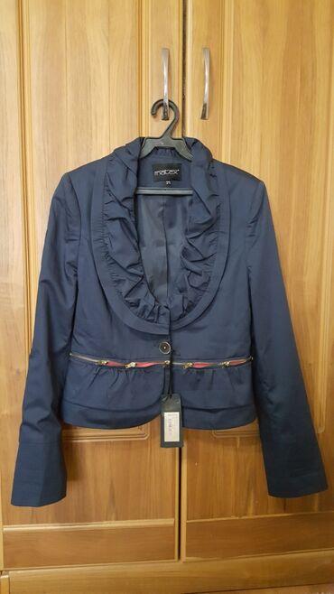 Пиджак новый размер М 44-46 темно синий