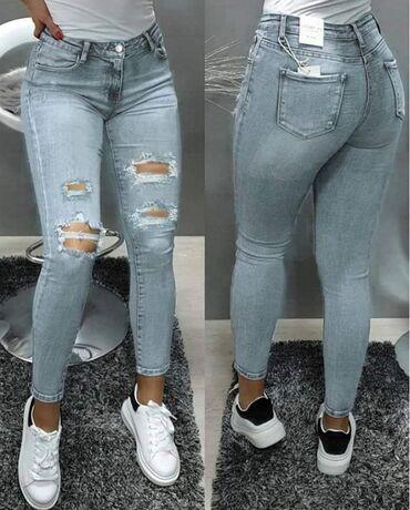 Ženska odeća | Novi Knezevac: Zenske farmerice  Xs - xl